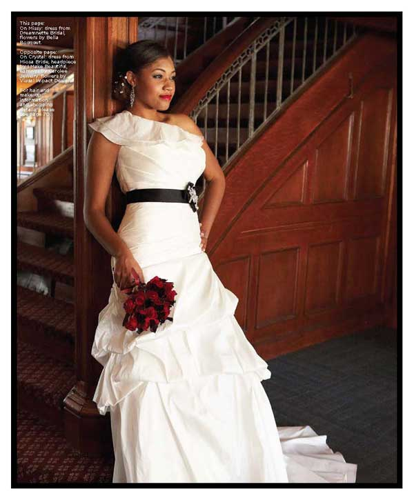 The Real Brides Magazine: Real Weddings Magazine Cover Model Feature